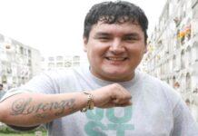 """José María Palacios, más conocido como """"Chacalón Jr."""""""