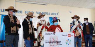 Entregan ayuda económica a población de Espinar