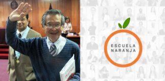 Alberto Fujimori Escuela Naranja
