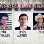 """Hijos del """"Chapo"""" Guzmán"""