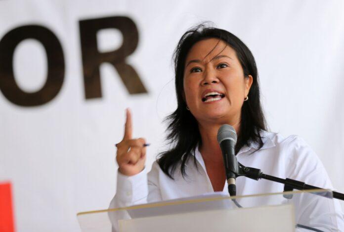Lideresa de Fuera Popular, Keiko Fujimori