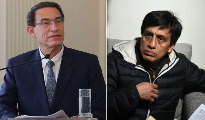 Martín Vizcarra y Antonio Camayo