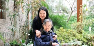 Alberto Fujimori y su hija Keiko Fujimori