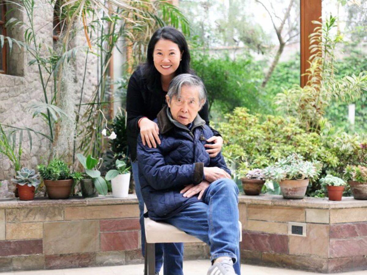 """Keiko Fujimori: """"Mi padre está mal de salud"""""""