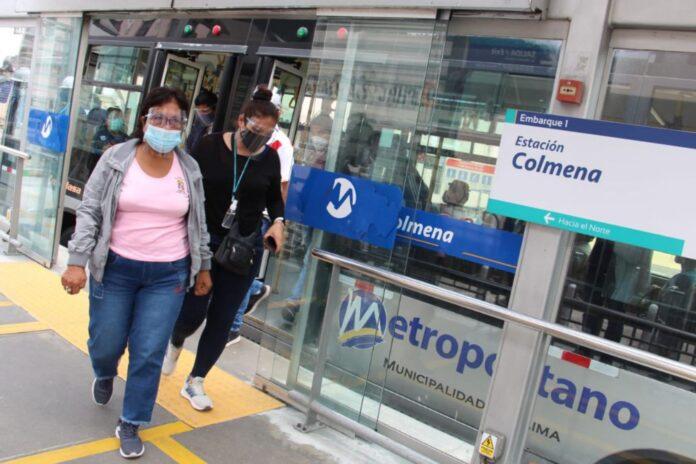 Estación Colmena del Metropolitano