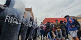 Comerciantes y fiscalizadores se enfrentan en Gamarra