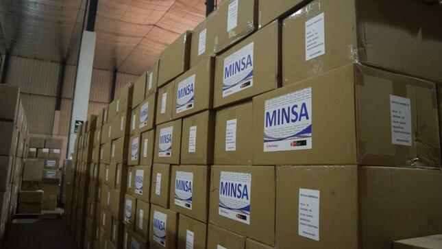 Distribuyen más de 279 toneladas de medicinas