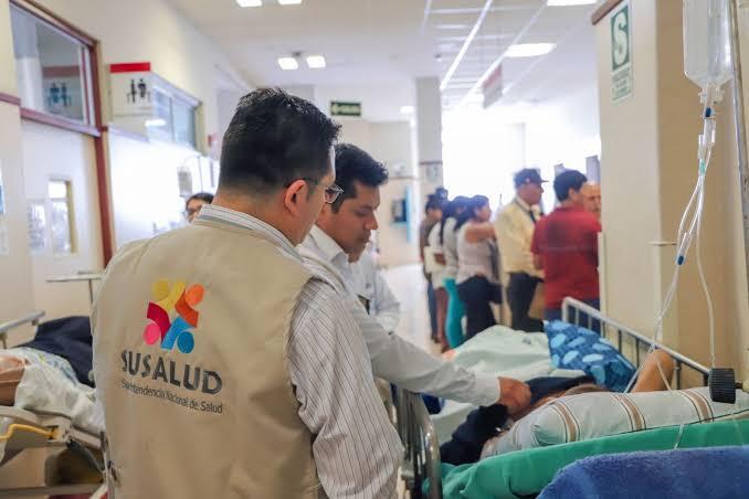Susalud fiscaliza atención de heridos en manifestaciones