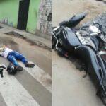 Valeroso policía de civil enfrenta a dos delincuentes y muere uno
