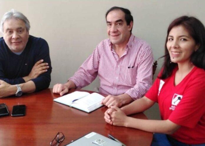 Plancha presidencial del partido Acción Popular, liderada por Yonhy Lescano