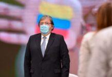 Ministro de Defensa de Colombia, Carlos Holmes Trujillo