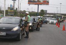 En nuevo toque de queda PNP multó a 473 conductores