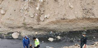 En acantilado del río Rímac rescatan a hombre