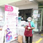 Realizan campaña contra Covid-19 en mercados de Pueblo Libre