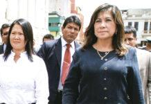 Keiko Fujimori y Martha Chávez