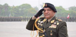 Jefe del Comando Conjunto de las Fuerzas Armadas, César Astudillo