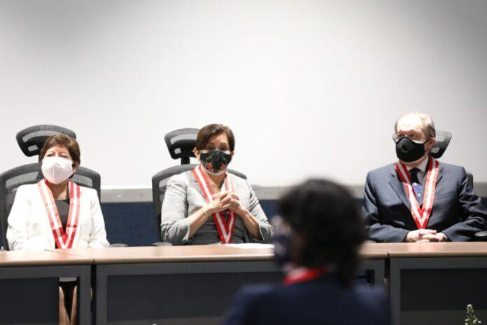Inés Tello juró como presidenta de la Junta Nacional de Justicia