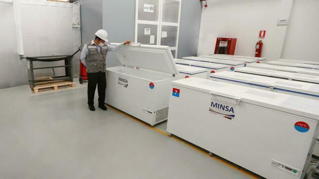 equipos de refrigeración para vacunas Covid-19