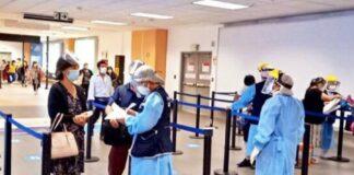 Cuarentena de viajeros que ingresen al Perú