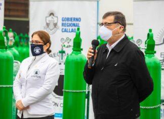 Callao dispone de cinco plantas de oxígeno para luchar contra el Covid-19