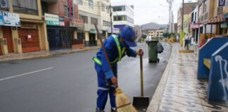 trabajadores de limpieza