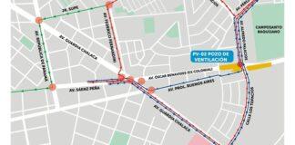 Av. Colonial será cerrada a partir del lunes por construcción de la Línea 2 del Metro de Lima y Callao