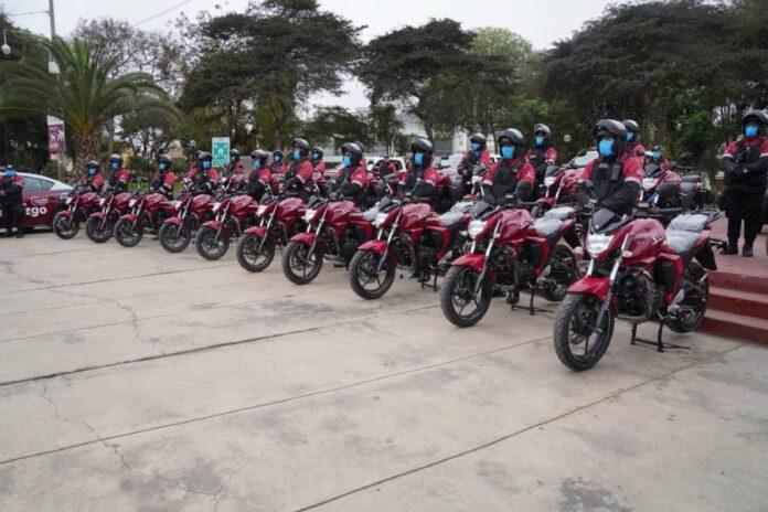Flota motorizada Pueblo Libre