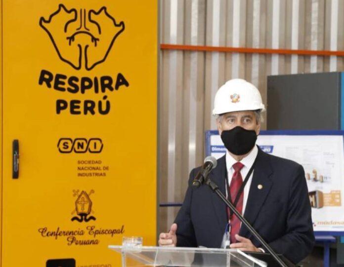 Respira Perú y Modasa presentan seis plantas de oxígeno fabricadas en el Perú