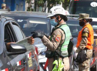Por no acatar medidas de cuarentena multan a 50 conductores con S/6 450