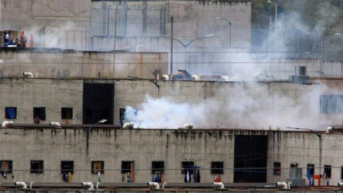 Estallido el último martes en varias prisiones de Ecuador