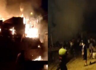 Salvaje incendió casa de su expareja porque lo rechazó