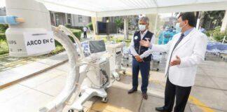 Entregan modernos equipos al Hospital Loayza