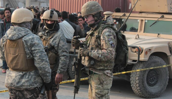 tropas estadounidenses