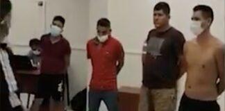 Atrapan a 10 sujetos vinculados al narcotráfico