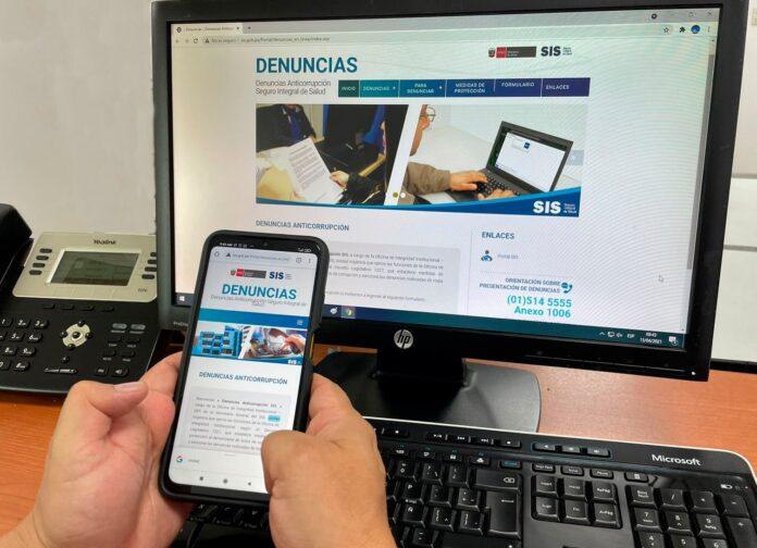 SIS: canales de atención para casos de corrupción