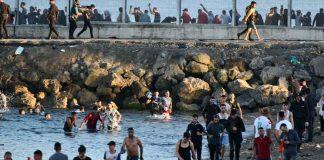 8 mil inmigrantes llegaron desde Marruecos hasta España