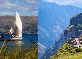 Turismo: Lago Titicaca (Puno) y el Valle del Colca (Arequipa)