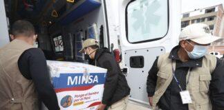 Completan entrega de primer lote de vacunas para abuelitos en todo el Perú