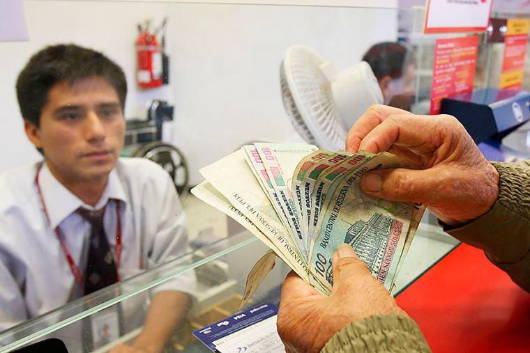 Este martes 7 se inicia pagos de pensiones de setiembre
