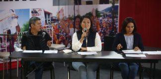 Luis Galarreta y Keiko Fujimori