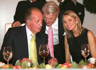 Juan Carlos I y Corinna Larsen