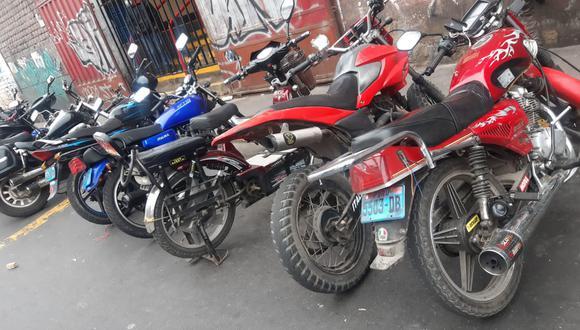 Malhechores alquilaban 39 motocicletas robadas
