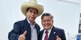 Pedro Castillo y César Acuña