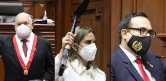 Jorge Montoya Manrique, María del Carmen Alva Prieto y José Enrique Jerí Oré