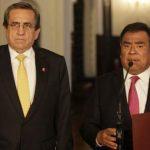 Jorge del Castillo y Javier Velásquez Quesquén