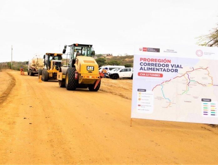 Desarrollo regional con mejoramiento de 15,000 km de caminos
