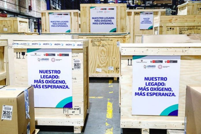 Francia dona cuatro nuevas plantas de oxígeno al Perú
