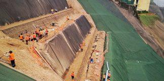 Trabajos para evitar deslizamientos en la Costa Verde
