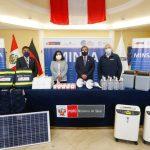 Minsa distribuirá equipos médicos a Amazonas y Loreto