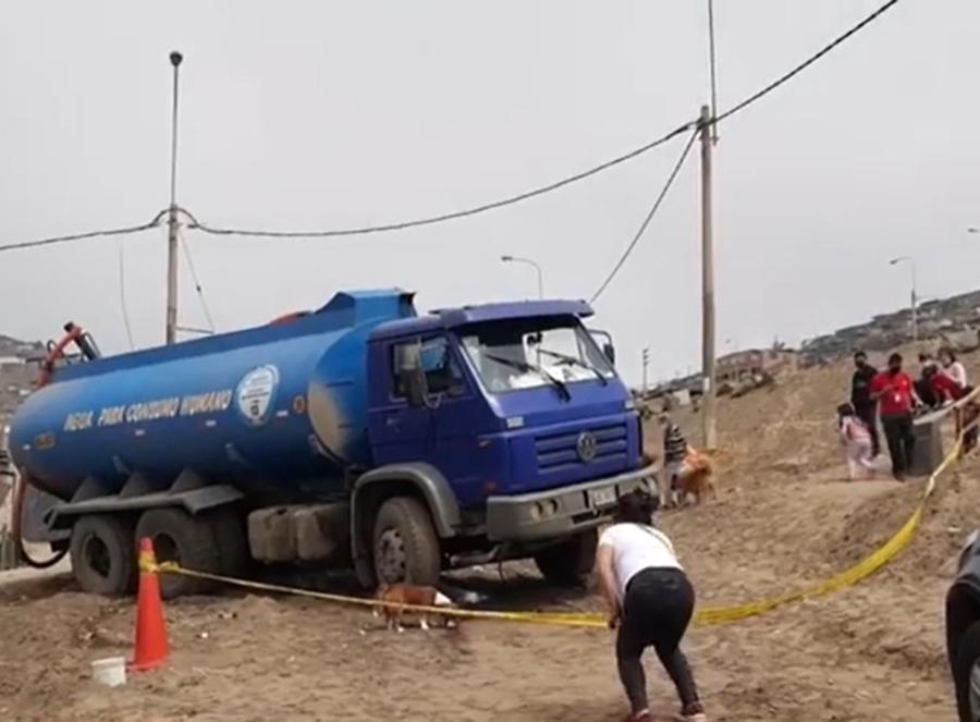 Extorsionadores matan a aguatero cuando cumplía un servicio con su cisterna